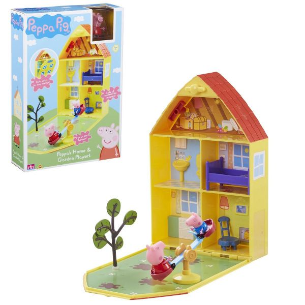Peppa Pig Home & Garden Playhouse Playset Toy